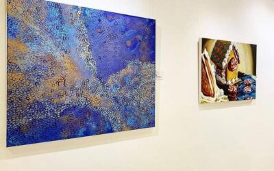 I currently have 4 Paintings being Exhibited at the Lowry Hotel Manchester with Comme Ci Comme Ca Art